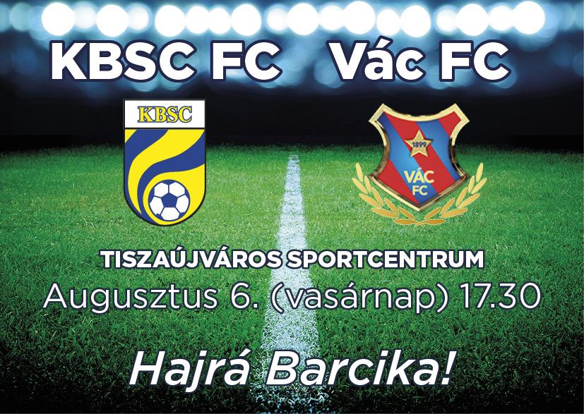 http://kbsc.hu/KBSC-VÁC mérkőzés