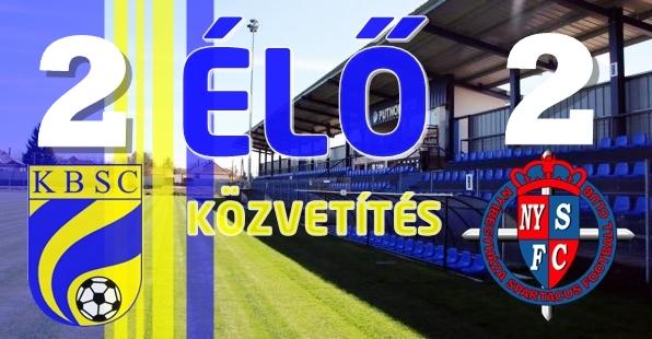 https://kbsc.hu/ÉLŐ KÖZVETÍTÉS : KAZINCBARCIKA - NYÍREGYHÁZA SPARTACUS FC