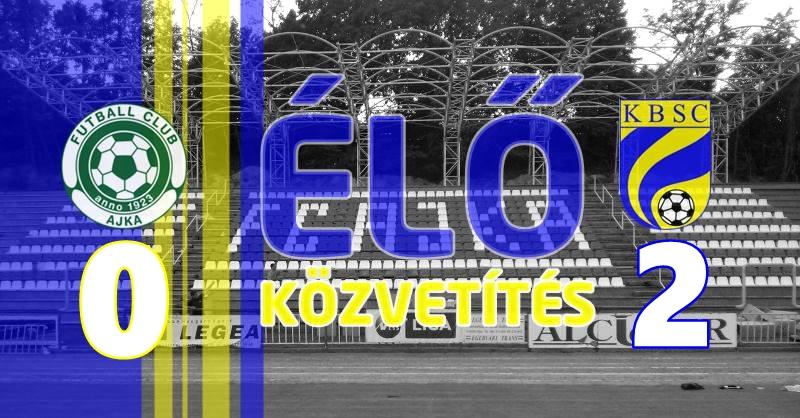 https://kbsc.hu/ÉLŐ KÖZVETÍTÉS: FC AJKA - KAZINCBARCIKA