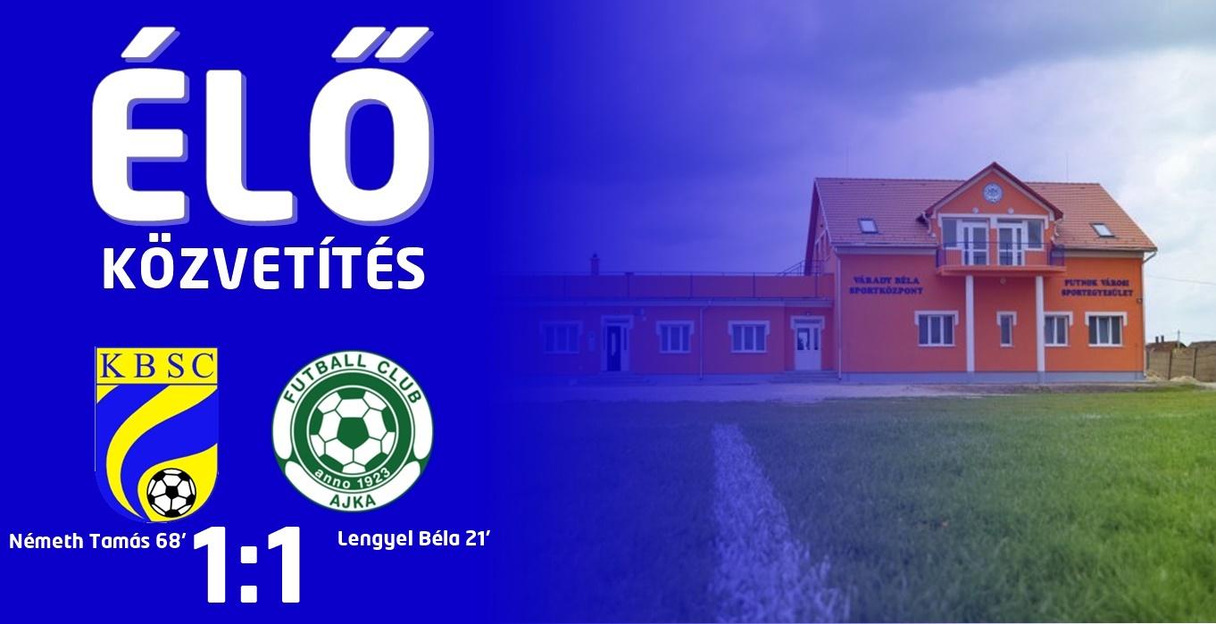 https://kbsc.hu/ÉLŐ KÖZVETÍTÉS : FC AJKA - KAZINCBARCIKA
