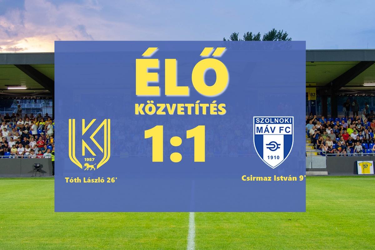 https://kbsc.hu/ÉLŐ KÖZVETÍTÉS: KOLORCITY KAZINCBARCIKA SC - SZOLNOKI MÁV FC
