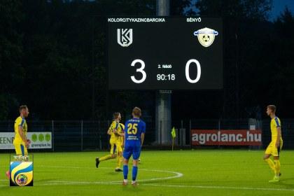 NB3 Keleti csoport 5. forduló: Kolorcity Kazincbarcika SC - Sényő-Carnifex FC