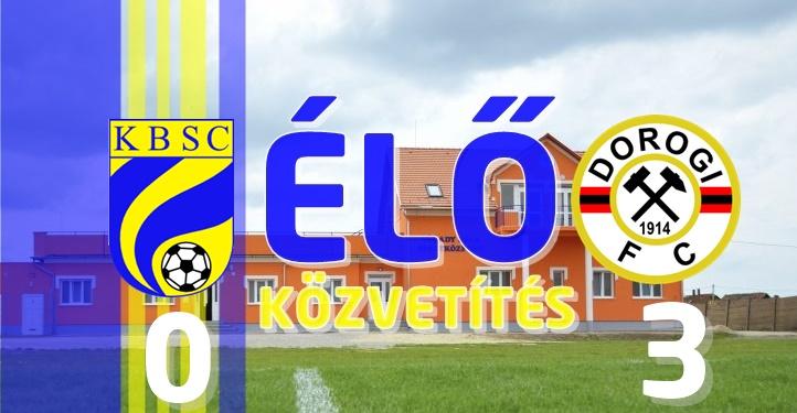https://kbsc.hu/ÉLŐ KÖZVETÍTÉS: KAZINCBARCIKA - DOROGI FC