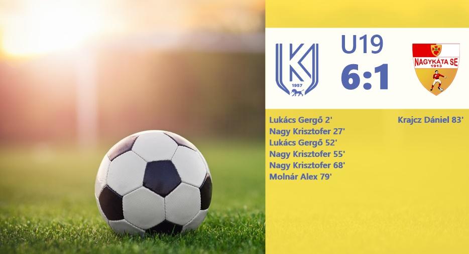 https://kbsc.hu/Győzelemmel zárta az őszt az U19-es csapatunk