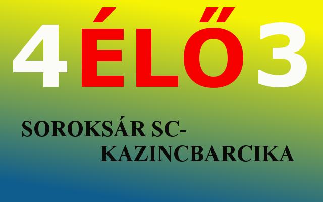 https://kbsc.hu/SOROKSÁR SC - KAZINCBARCIKA ÉLŐ